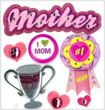 Jolee's Boutique Dimensional Stickers, Mother