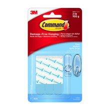 3M Command Clear Refill Strips, Medium