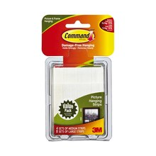 3M Command Medium & Large Picture Hanging Strips