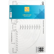 EZ Quilting Circle Cut Ruler