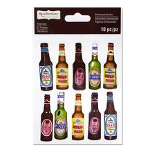 Beer Bottle Dimensional Stickers by Recollections Signature
