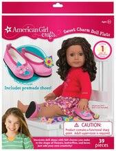 American Girl Crafts Sweet Charm Doll Flats
