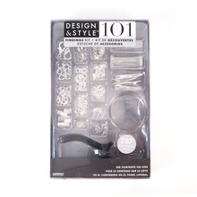 Design & Style 101 Findings Kit, Silver Tone