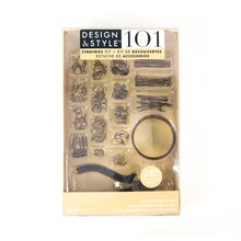 Design & Style 101 Findings Kit, Oxidized Gold