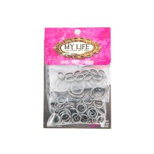 My Life by Amy Labbe Jump Ring Mix, Pewter