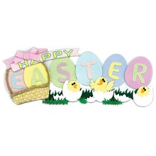 Jolee's Boutique Dimensional Title Sticker, Easter
