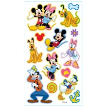 Disney Puffy Stickers, Mickey & Friends