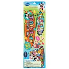 Disney Adhesive Chipboard Stickers, Mickey Family