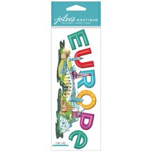 Jolee's Boutique Sticker, Europe Title Wave