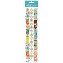 Jolee's Boutique Adhesive Borders, Travel Stickers