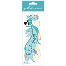 Jolee's Boutique Dimensional Banner Sticker, It's a Boy