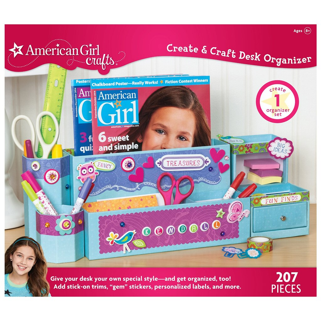 Find the american girl crafts create craft desk for American girl craft kit