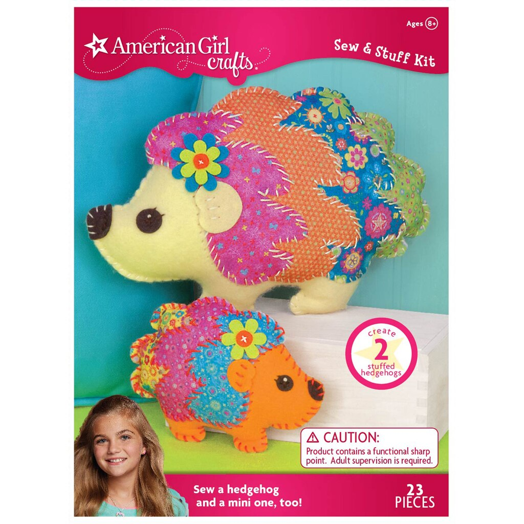 Buy the american girl crafts sew stuff kit hedgehog at for Weekly ad for michaels craft store