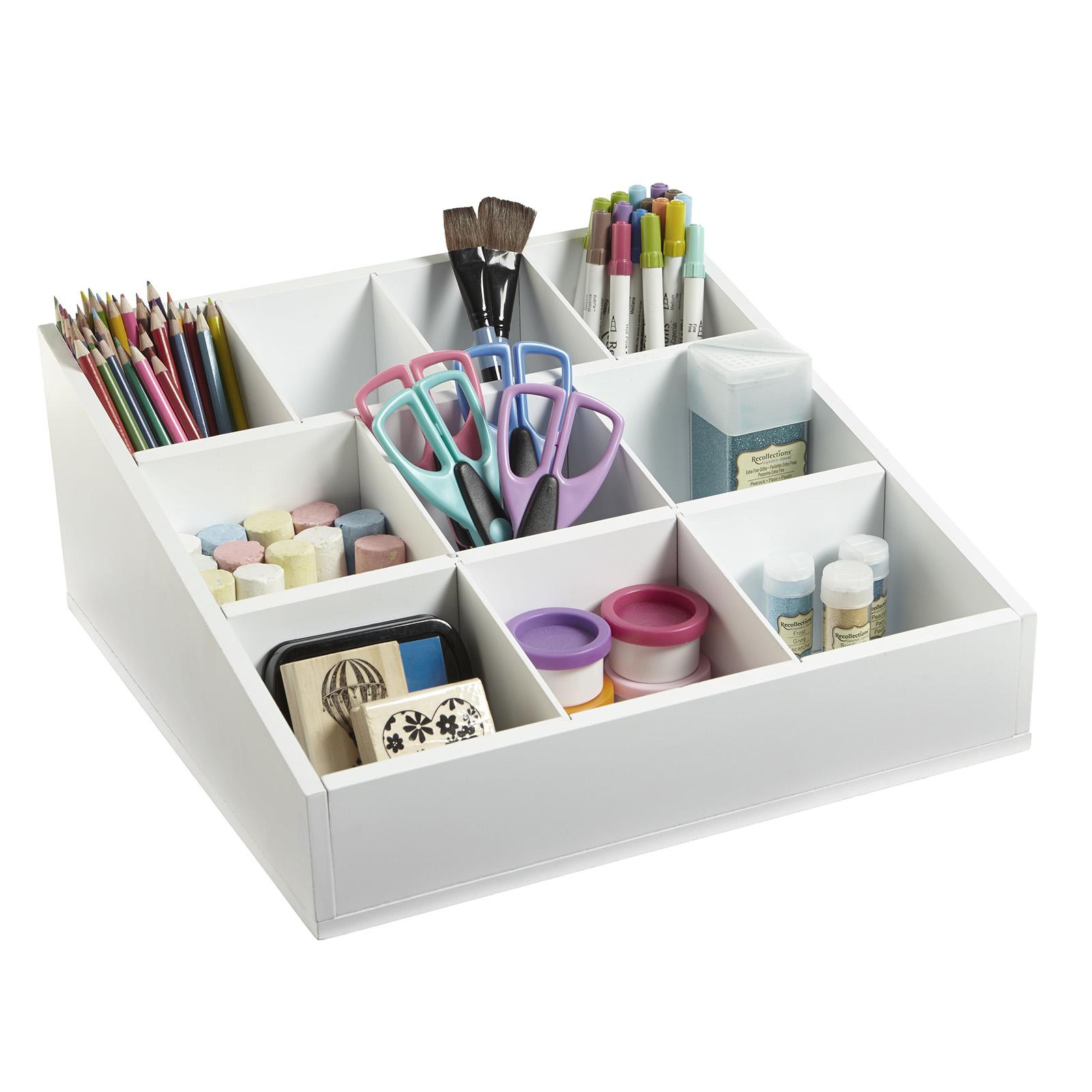desktop cube storage organizer by ashland tray