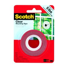 Scotch Mounting Tape, Clear