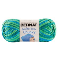 Bernat Softee Baby Chunky Yarn, Variegates Jungle Jive