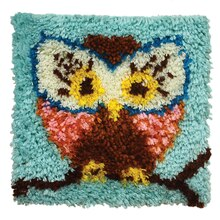 Wonderart Latch Hook Kit, Hoot Hoot