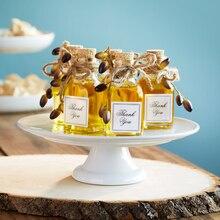 Wedding Favor Olive Oil Jar, medium