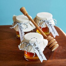 Wedding Favor Jar of Honey, medium