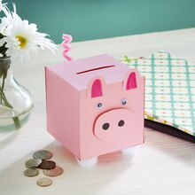 Kids Club® Spring Break Piggy Bank, medium