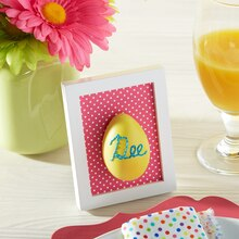 Bright Easter Embroidered Egg Place Holders, medium