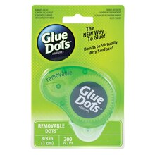 Removable Glue Dots Dot 'N Go Dispenser