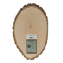 Walnut Hollow Basswood Country Round, Large, Label