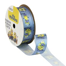 "Universal Studios Minions Blue Ribbon, 7/8"" x 9ft."