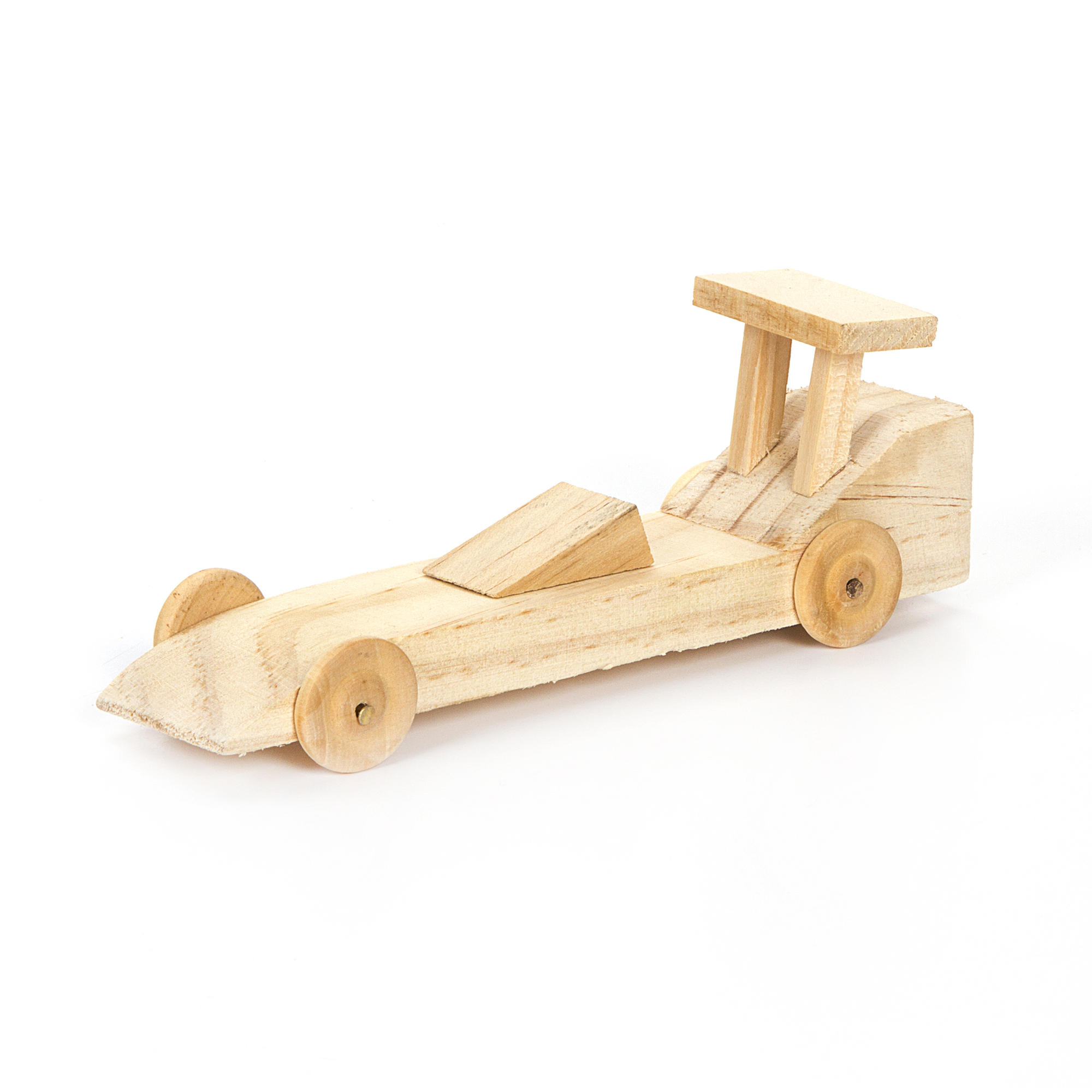 wooden co2 cars buy the darice race car wood model kit at michaels