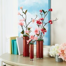 Copper Shimmer Vases, medium