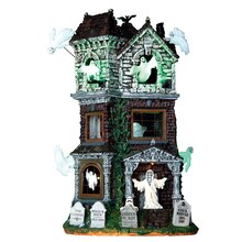 Lemax Spooky Town Collection Ghostly Manor