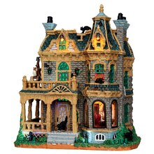Lemax Spooky Town Collection Withered Mansion, With 4.5V Adaptor