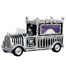 Lemax Spooky Town Collection Hearse of Bones