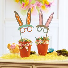 Easter Bunny Wood Masks, medium