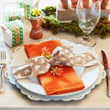 Easter Carrot Place Setting, medium