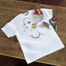 Coloring T-Shirt, medium