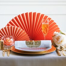Paper Craft-It™ Coral Place Setting, medium