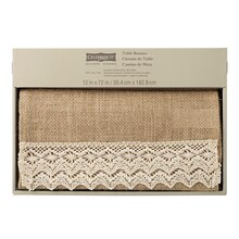 Burlap Table Runner by Celebrate It