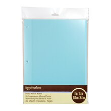 Blue Photo Album Refills by Recollections