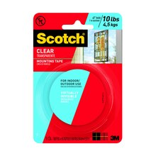 3M Scotch Mounting Tape, Clear