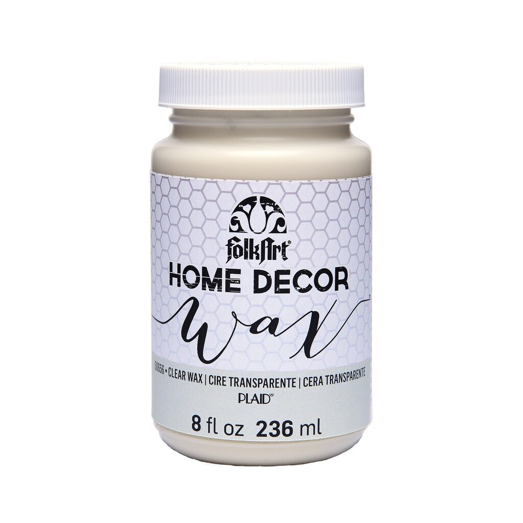 Shop for the folkart home decor clear wax at michaels for Michaels home decor