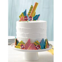 Springtime Candy Shards Cake, medium