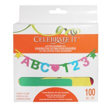 Letter Banner Kit by Celebrate It