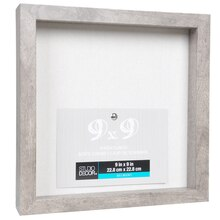 gray belmont shadow box by studio dcor - Michaels 12x12 Frame