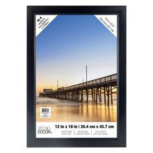 "Black Ventura Poster Frame by Studio Decor, 12"" x 18"""
