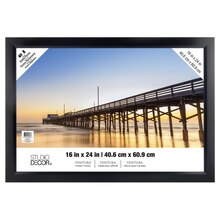 "Black Ventura Poster Frame by Studio Decor, 16"" x 24"""