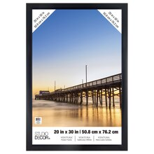 "Black Ventura Poster Frame by Studio Decor, 20"" x 30"""