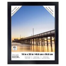 "Black Ventura Poster Frame by Studio Decor, 16"" x 20"""