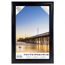 "Black Ventura Poster Frame by Studio Decor, 11"" x 17"""