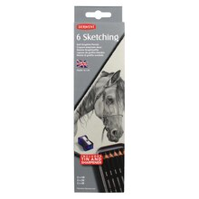 Derwent Sketching Pencils 6 Tin